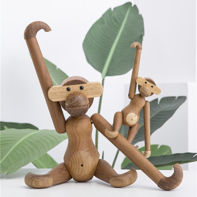 Wooden Monkey by Kay Bojesen 2