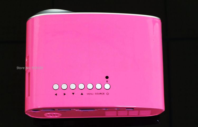 mini projector red pic 5