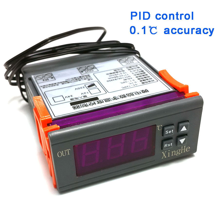 PID Temperature Controller, Solid State Output, 0.1 Accuracy With Temperature Alarm Function Automatic Thermostat Controller