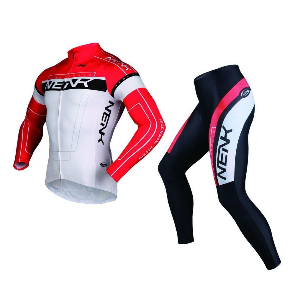 SOBIKE NENK Cooree Suits Cycling Short Sleeve Jersey /& Shorts Red Asian Size
