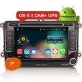"Ctj ES4698V 7 ""Android 5.1 Dvd-плеер Автомобиля DAB + для VW"