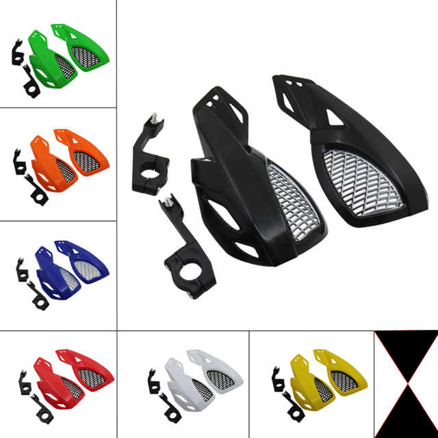 รถจักรยานยนต์Handguard Hand GUARD ProtectorสำหรับKAWASAKI Suzuki Honda Yamaha KTM SX EXC XCW SMR Moto Dirt BIKE ATV 22MM Handlebar