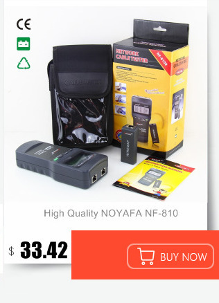 Noyafa NF-8209 verificador ethernet cat5 do ponto