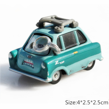 Disney Pixar Cars 3 2 Toys Lightning McQueen The King Holly Francesco Mater 1:55 Diecast Metal Alloy Model Car Kid Gift Boy Toy image