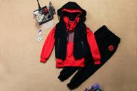 осень и зима женщины свободного покроя брюки спорт комплект Gel Task предмета комплект утолщение комплект