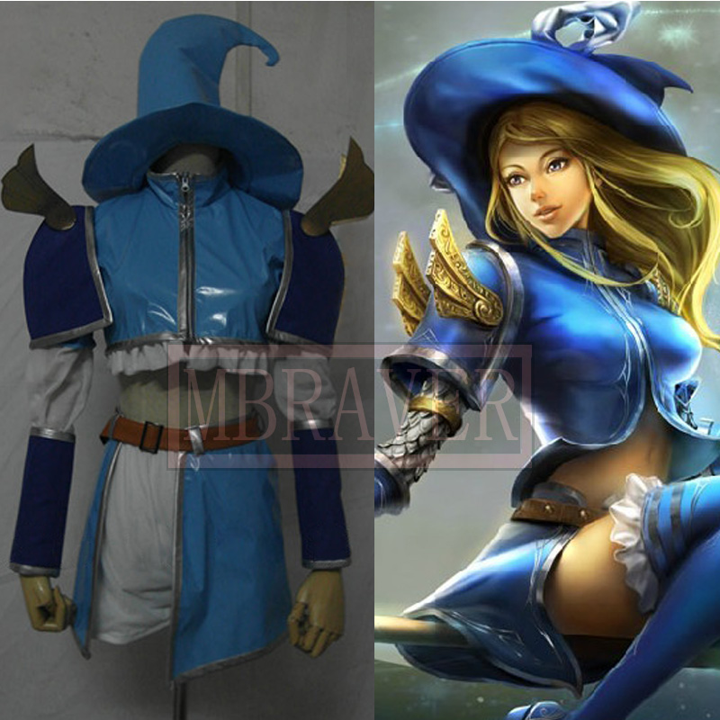 LOL Luxanna Crownguard Lux Cosplay Anime clothes Sexy lady cosplay costumes customize
