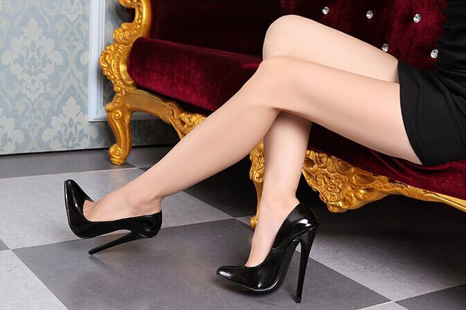 Aliexpress.com : Buy Funtasma high heel ballet shoes Sexy Patent ...