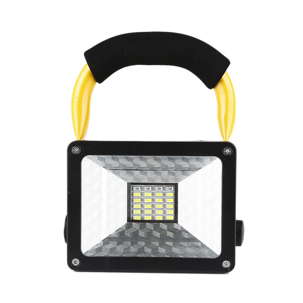 HTB11eXUxXOWBuNjy0Fiq6xFxVXaU - Waterproof 1000lm Rechargeable Flood Portable 220V Iron Outdoor Emergenency Light Garage Lamp Construction Site Spotlight