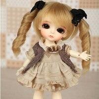 OUENEIFS lati giallo soleggiato lea lami kuro coco 1/8 sd/bjd modello reborn bb ragazzi delle ragazze bambola giocattoli negozio casa delle bambole in silicone mobili