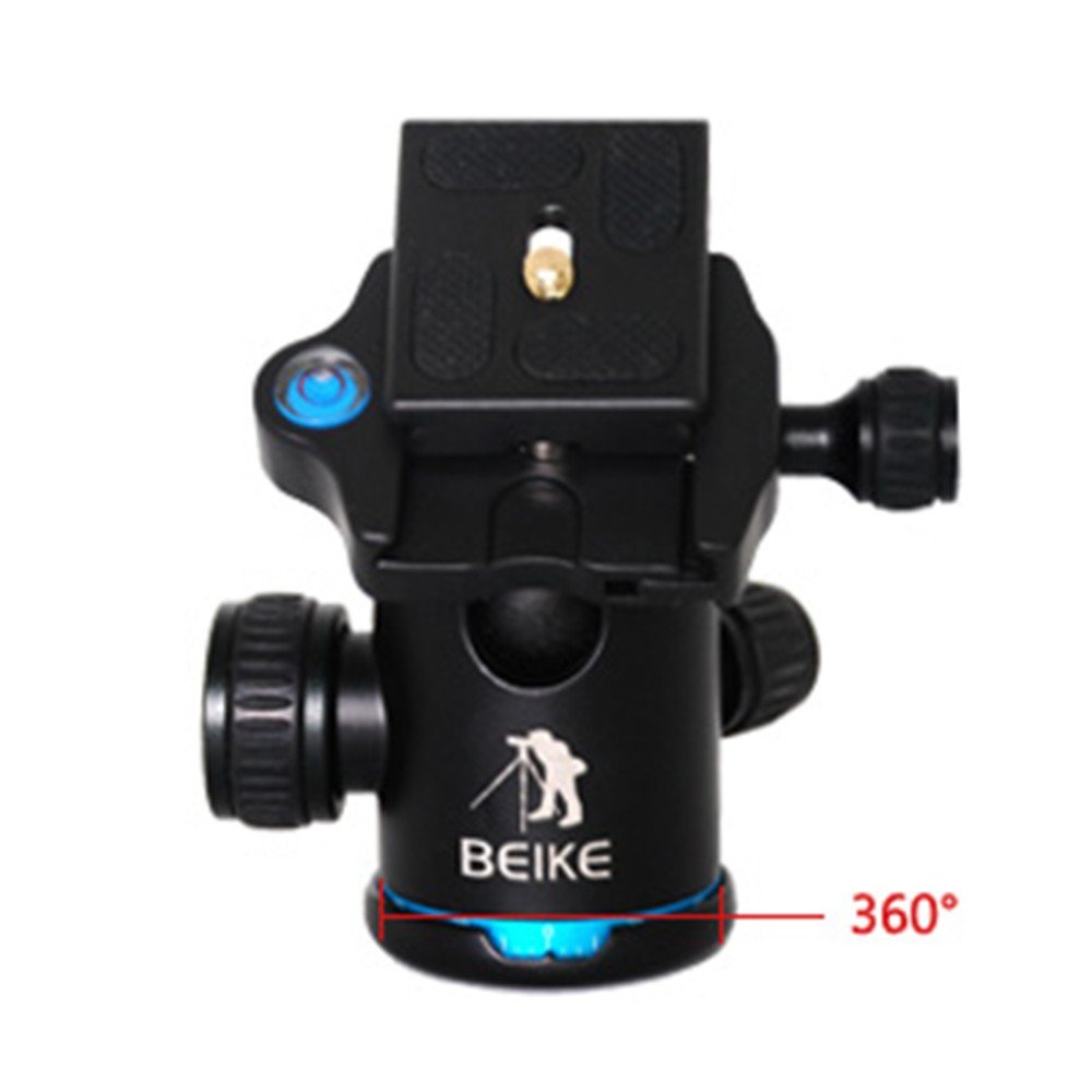 Blue-BEIKE-BK-03-Aluminum-Camera-Tripod-Ball-Head-Ballhead-with-Quick-Release-Plate-1-4 (2)