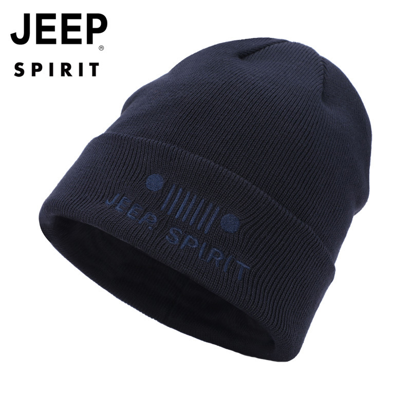 American Jeep Beanie Hats Wool Knit Caps for Womens Mens
