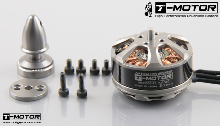 small brushless motor T-Motor MN3508 380KV High Efficiency Multi-rotor Brushless Motor (3-6S) new 3508 kv400 590 motor multi axis aerodynamic brushless external rotor