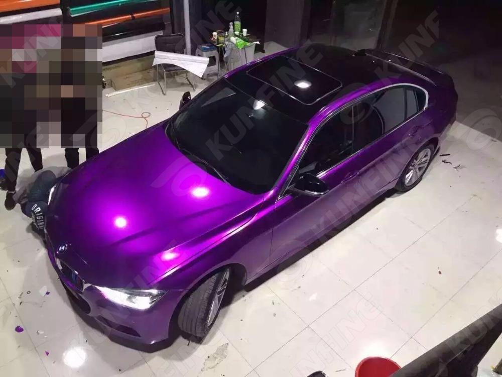 Aurora Purple Car Vinyl film 9