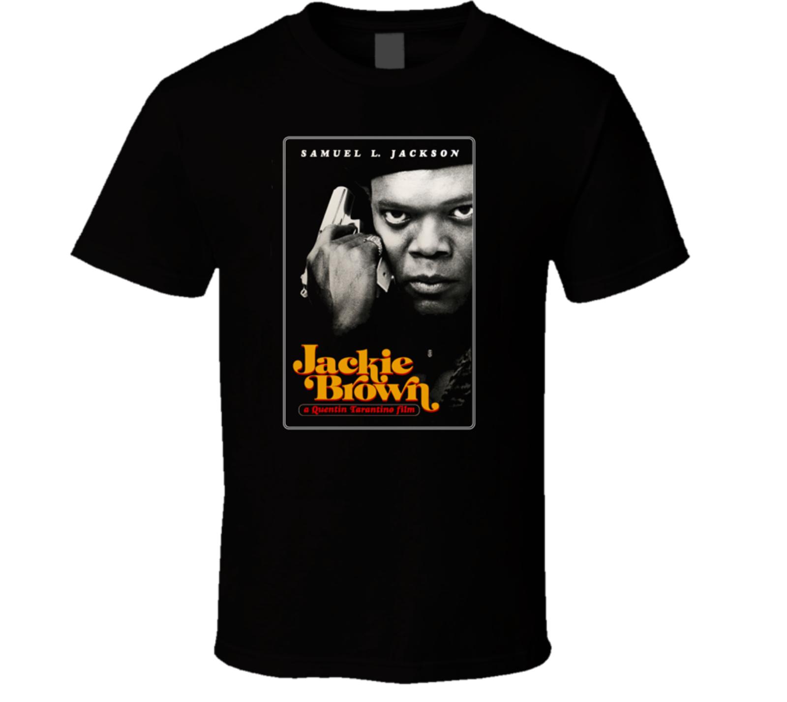jackie-brown-t-shirt-samuel-l-jackson-quentin-font-b-tarantino-b-font-pam-grier-pulp-fic