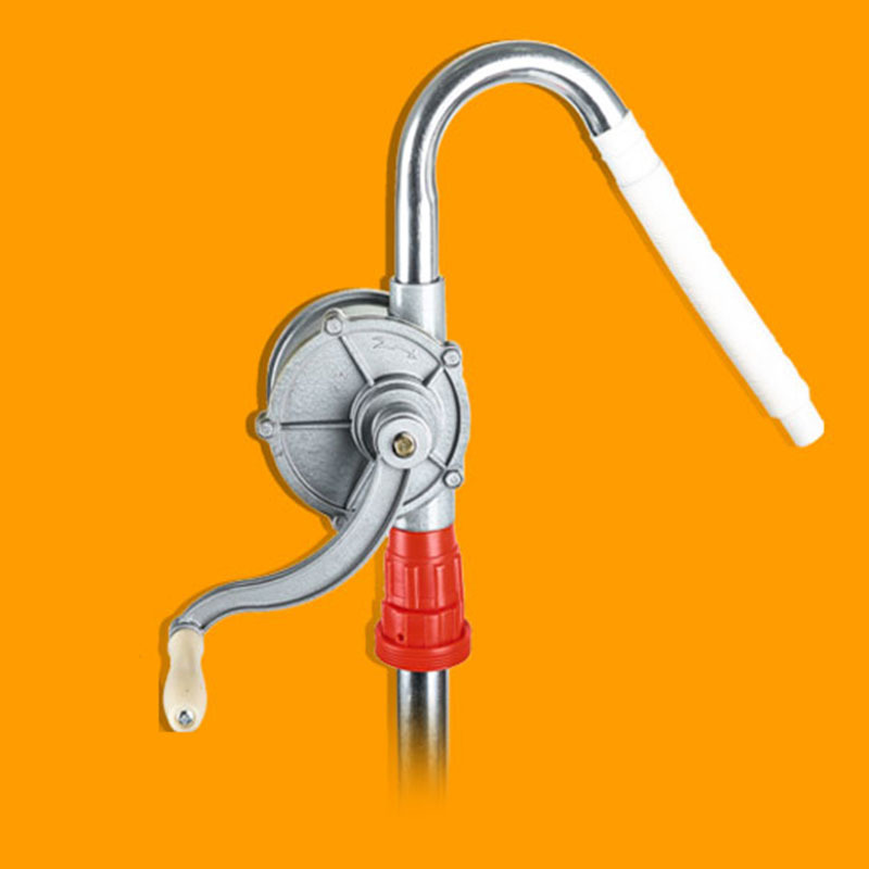 Pompe à tambour rotatif en aluminium huile Diesel essence pompe à main 29L/min