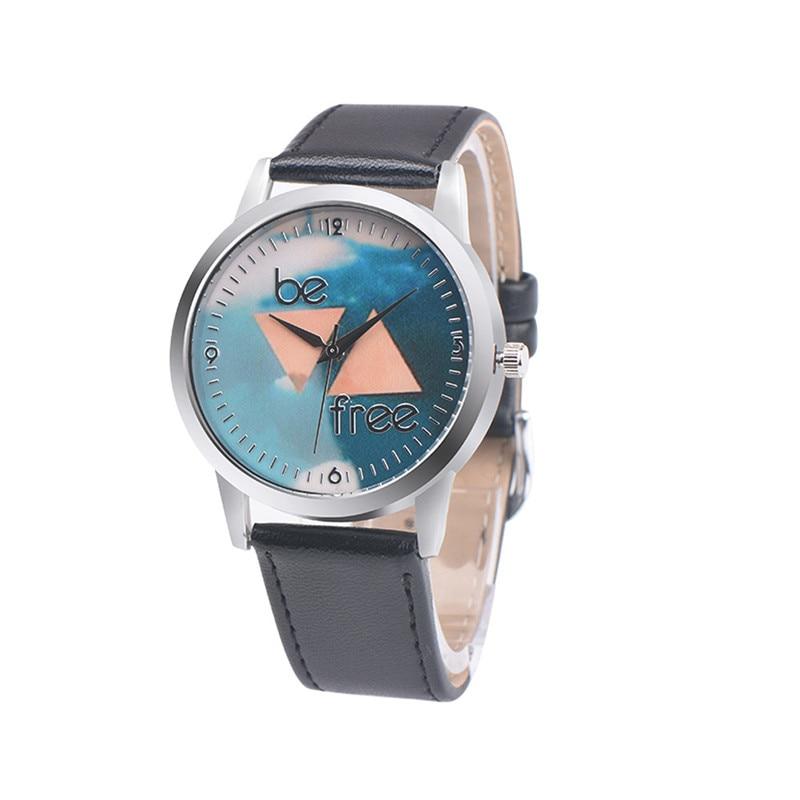 bb532f426d5 Relogio feminino Pulseira de Couro De Design Retro Seja Livre Liga  Analógico de Quartzo Relógio de Pulso Mulheres Relógios relogios Montre  Transporte Dorp