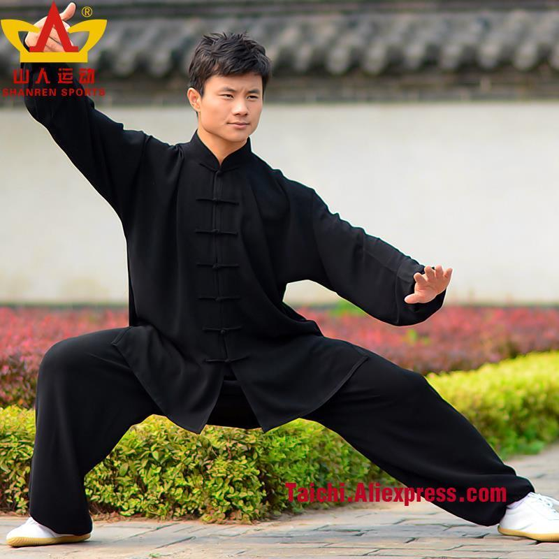 Rayon Tai chi suits martial arts clothing taijiquan  uniforms Wushu Clothing Kung Fu Clothes black white pink dark red cotton linen men s yoga suits long sleeved taiji lay clothes plus size breathable meditation martial arts performance clothing