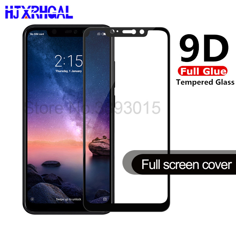 9D Full glue Tempered Glass For <font><b>xiaomi</b></font> <font><b>Redmi</b></font> <font><b>6</b></font> 6A <font><b>6</b></font> Pro Screen Protector on the For <font><b>redmi</b></font> note <font><b>6</b></font> pro Full cover Protective Film image
