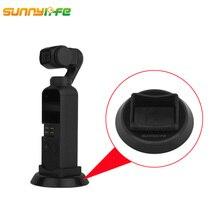 лучшая цена Sunnylife DJI OSMO Pocket Camera Extended Base Portable Handheld Gimbal Stabilizer Holder Desk Stander OSMO Pocket Accessories