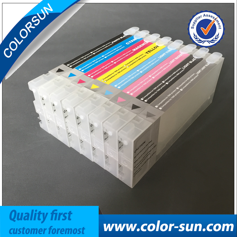 New Printer Ink Cartridges for Epson Pro7880 Pro9880 7880C 9880C for Cartridge T6021-T6029 with ARC Chips& One Resetter new t5971 t5974 t5978 empty refillable ink cartridge for epson stylus 7700 9700 7710 9710 with arc chips with one resetter
