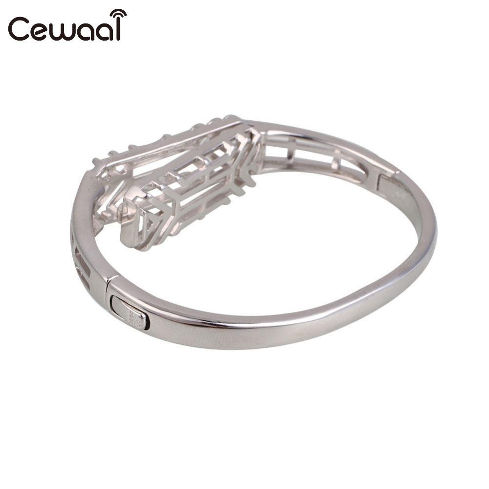 Cewaal New Outdoor Metal Smart Bracelet Band Holder Case For Fitbit Flex2 Watch Wristband Tool Accessories