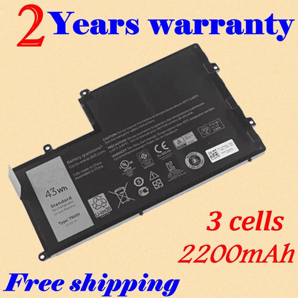 JIGU Laptop Battery For Dell 15 5000 15 5547 for Latitude 3450 for Vostro 14-5480D 1V2F6 TRHFF 01v2f6 dav02amb8f1 laptop motherboard for dell vostro 3450 gg0vm best quality tested ok