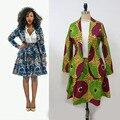 2016 novo estilo agradável africano wax imprimir blazer set africano blazer e saia conjunto de xs a xxxxl tamanhos grandes bem-vindo