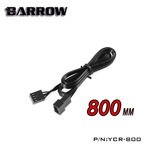 Barrow LRC lighting control system RGB lighting components dedicated extension cord 800MM YCR-800