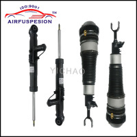 4Pcs Free Shipping For Audi A6 C6 4F Front Rear Air Suspension Shock Strut Air Spring 4F0616039AA 4F0616040AA 4F0616031K
