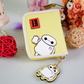 Women Wallets Short Hasp Lady Purses Cards Cute Cartoon Big Hero Baymax Woman Wallets Money Bags Burse Carteira Feminina