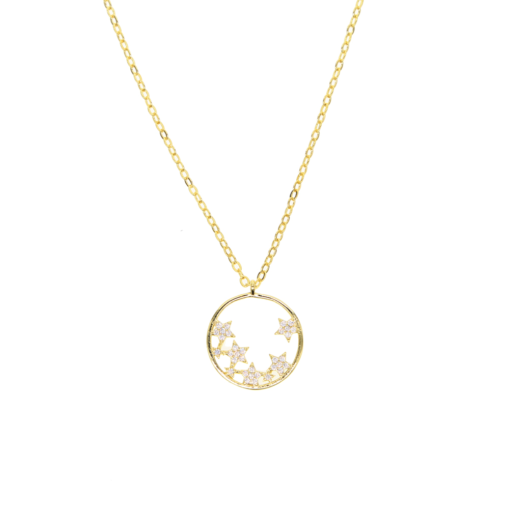 GCHP7  blue 2019-2020 round shape  summer spring style 25mm pendant 925 silver 45cm length women necklace can be lover day giftGCHP7  blue 2019-2020 round shape  summer spring style 25mm pendant 925 silver 45cm length women necklace can be lover day gift