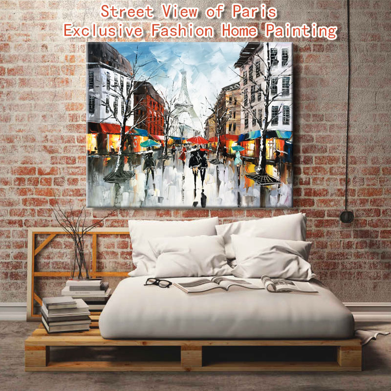 Paint By Number Art Painting By Numbers City Streets Fashion Living Room Decorative Hanging Pictures Personalized Customization