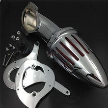 For Honda Shadow Aero 750 VT750 (All Years) Motorcycle Air Cleaner Kit Intake Filter chrome air cleaner intake filter for honda shadow spirit ace 750 1998 2013 new