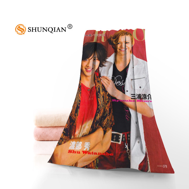 US $9 74 25% OFF|Microfiber Towels Custom Kamen Rider ooo Face Towel/Bath  Towel Size 35x75cm, 70x140cm bath towels for adults-in Other Towels from