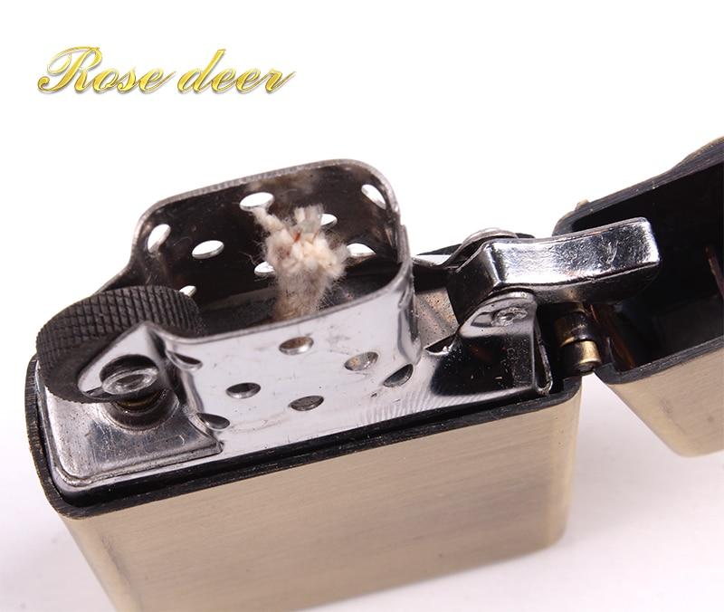 Metal attached present hell detective Wheelbarrow kerosene lighter Windproof Smoking konstantine Vintage Style oil Lighter