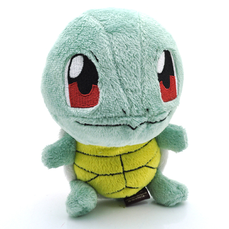 5pcs/lot 15cm Squirtle Plush Toys Doll Cute Squirtle Plush Stuffed Toys Soft Animals Toy for Kids Children Xmas Gifts 5pcs lot pikachu plush toys 14cm pokemon go pikachu plush toy doll soft stuffed animals toys brinquedos gifts for kids children