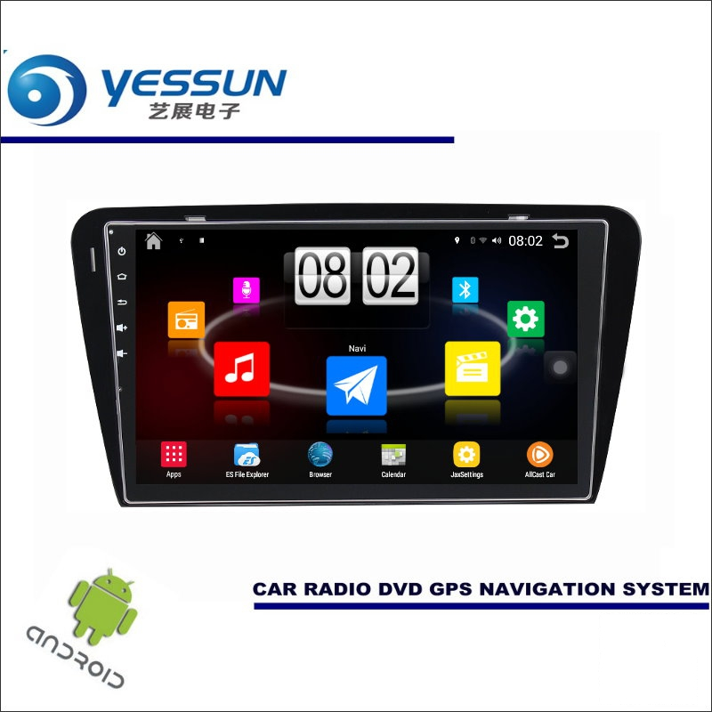 YESSUN Car Android Player Multimedia For Skoda Octavia MK3 2014~2017 Radio Stereo GPS Map Nav Navi ( no CD DVD ) 10.1 HD Screen