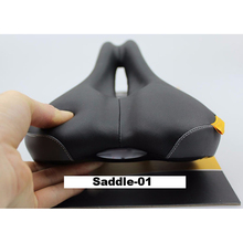 FETESNICE bicycle saddle seat soft Comfortable hollow out breathing MTB road bike cushion