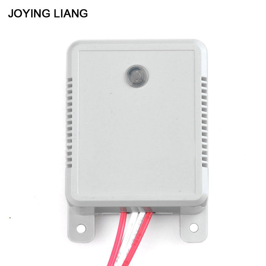 JOYING LIANG Sound Light Control Delaying Switch Surface-type Energy Saving Acoustic Light-activated Delay Switch 160V-250V voice control switch two wire system wall mount sound activated and light snesor switch with 30s time delay ac 110 250v