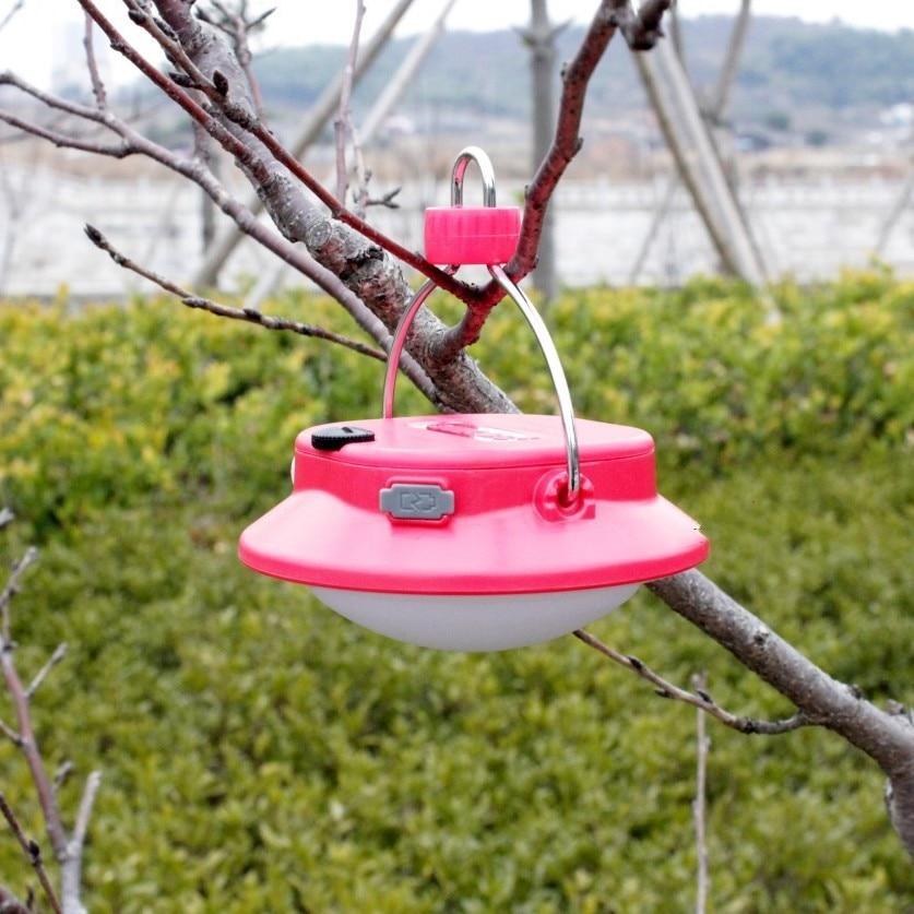 Yupard energienbank SMD LED USB lade rotes Licht Camp Zelt Lampe Laterne Taschenlampe Wiederaufladbare 18650 outdoor camping angeln