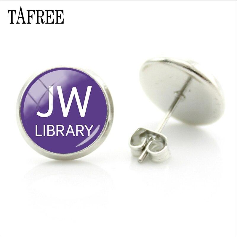 TAFREE New Hot JW.Org Stud Earrings Jehovah
