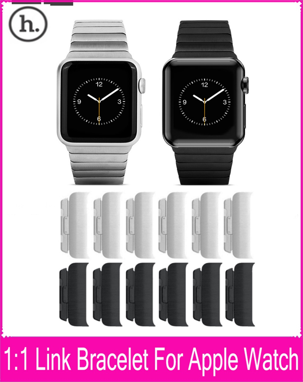 Hoco Grand Series Chain Metal 1 1 Link Bracelet Original Watchband For Apple font b Watch