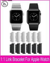 Hoco Grand Series de la cadena de Metal 1:1 pulsera del acoplamiento originales correa para Apple reloj 42 mm 38 mm con encargo cierre de mariposa