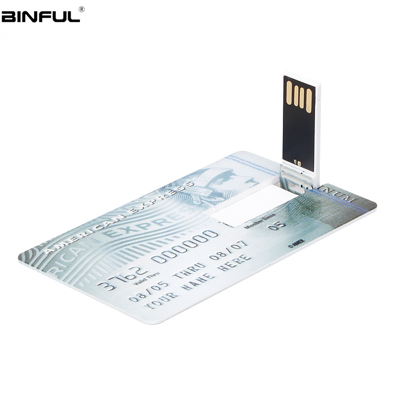 Image 4 - Pendrive Creative Usb Flash Drive 64GB Pen Drive 4GB 8GB 16GB 32GB 128GB Usb 2.0 Standard Chartered Card U Disk Free Print LOGO-in USB Flash Drives from Computer & Office