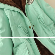 Autumn Warm Winter Jacket Women Fashion Women's Fur Collar Coats Jackets for Lady Long Slim Down Parka Hoodies Parkas