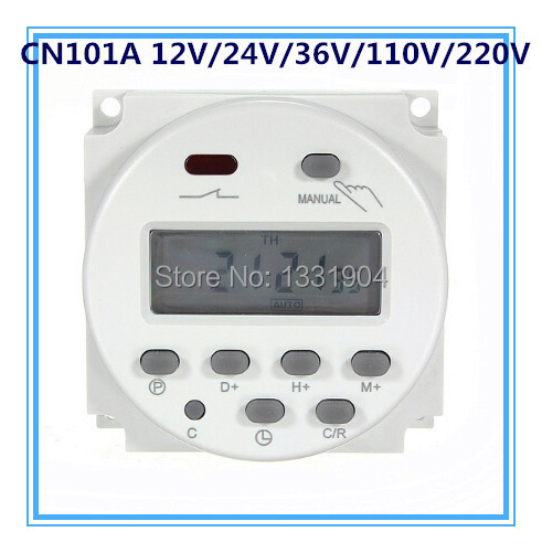 Free shipping CN101 mini Digital Timer LCD Power Programmable Timer ...