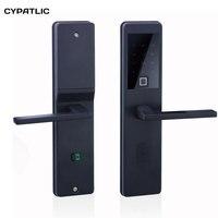 Сканирование отпечатков пальцев Smart lock интеллектуальные электронная клавиатура Количество замка двери биометрический замок на дверь