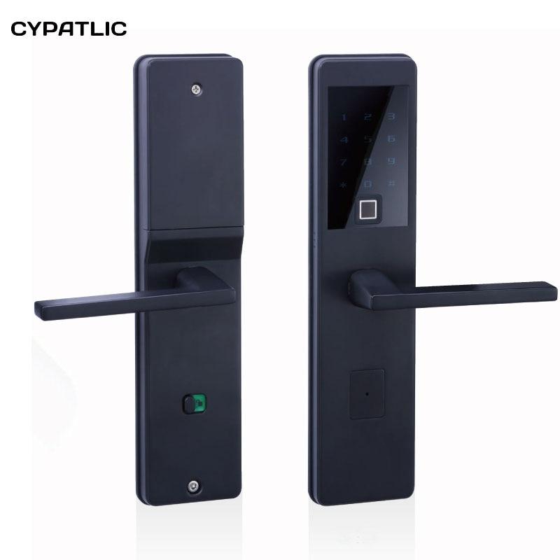 Fingerprint Scanning Smart lock Intelligent Electronic keypad Number Door Lock Biometric
