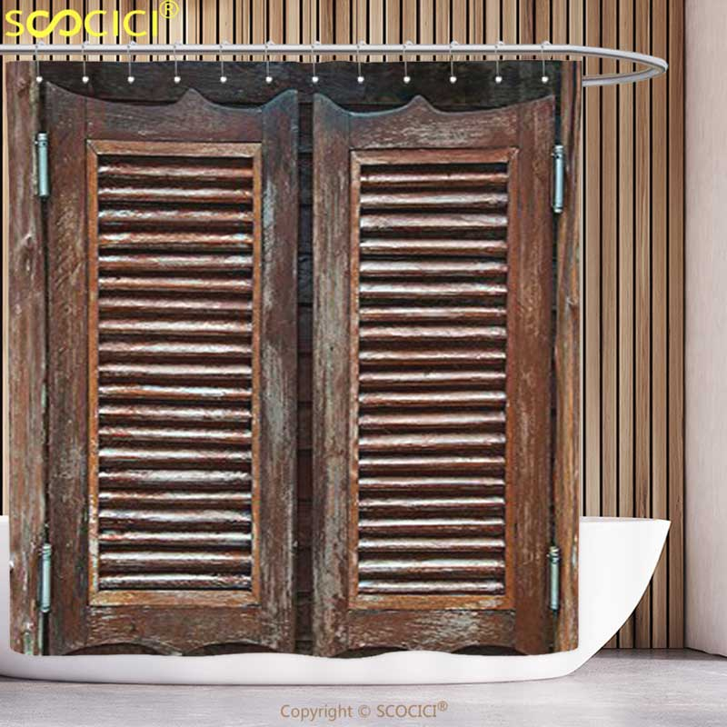 Cool Shower Curtain Western Decor Collection Rustic Wild