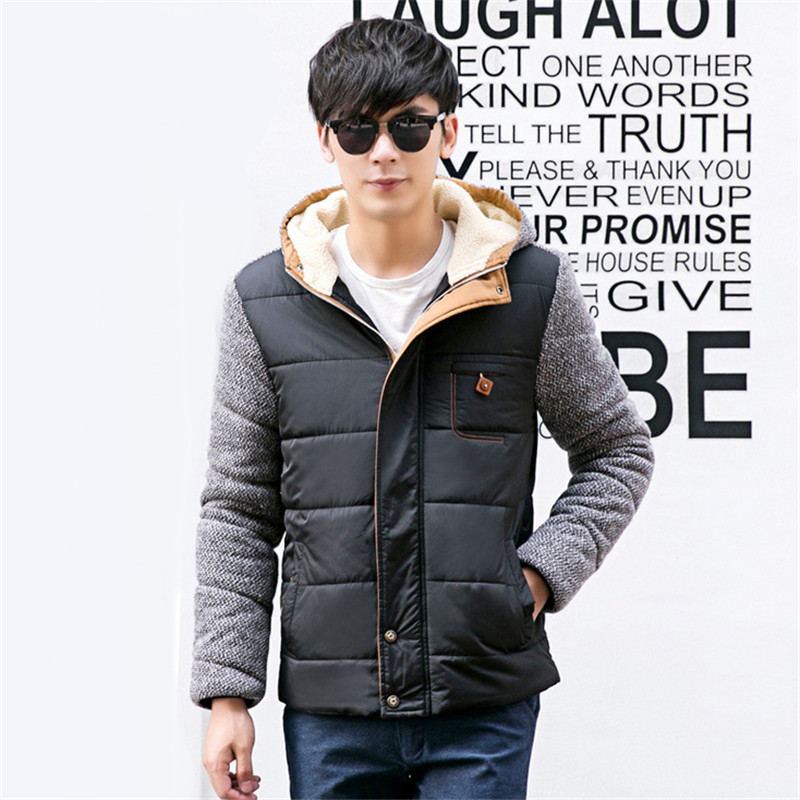 2015 New  Hot Men's Winter Slim Hit the Color Of Mixed Colors Of Autumn And Winter Thick Cotton Jacket Fashion Slim Thick Coat rakesh kumar tiwari and rajendra prasad ojha conformation and stability of mixed dna triplex